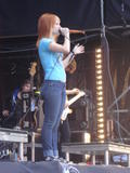 Hayley Williams (Paramore) Performing at Norwegian Wood 08