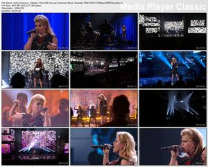 Kelly Clarkson - Medley (The 40th Annual American Music Awards) - HD 720p 27Mbps