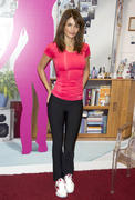 Helena Christensen poses as the new image of sports brand Reebok in Madrid 09-12-2010