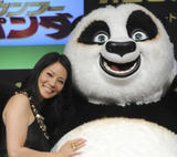 "Lucy Liu @ ""Kung Fu Panda"" Press Conference in Tokyo, Japan {July 15th 2008} ~5X UHQ~"