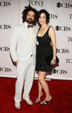 Mary-Louise Parker shows some cleavage at 62nd Annual Tony Awards in New York City