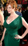 busty christina hendricks cleavage at the Emmys 2008